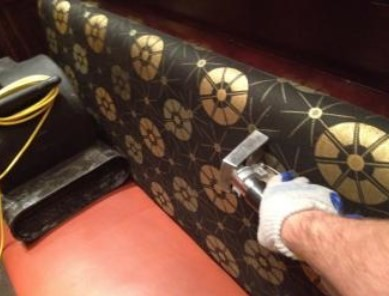 Upholstery Cleaning at a Restaurant